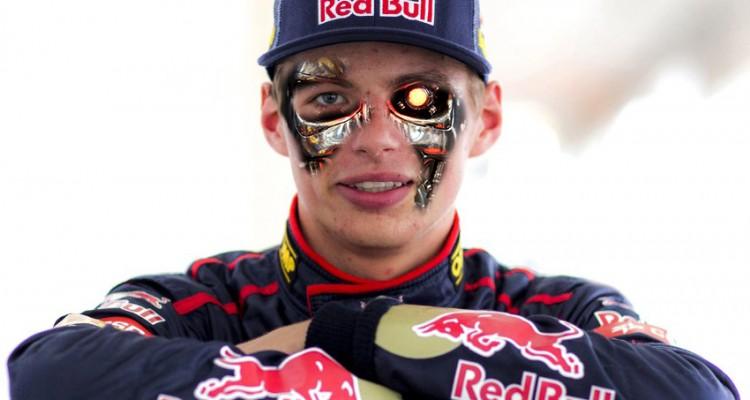 Max verstappen Terminator