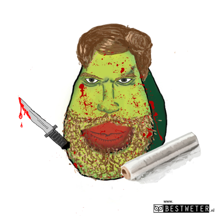 avocadexter Morgan Dexter Morgan avocado serie Dexter