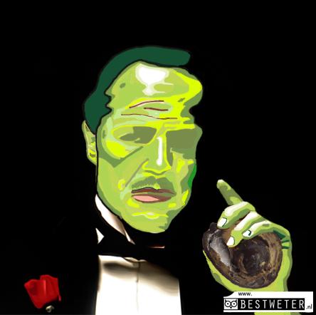avocadon Corleone maffia avocado Don Corleone