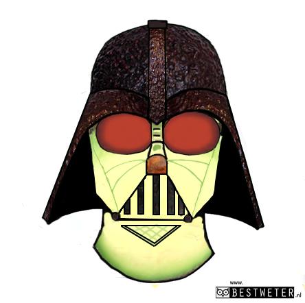 avocadarth Vader avocado Dart Vader Star Wars