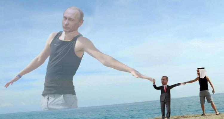 Fotoshoot Turkije Putin Erdogan