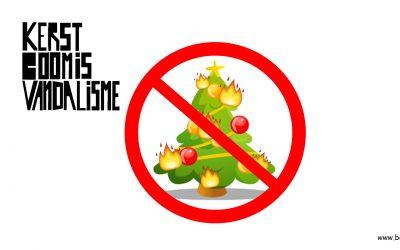 Kerstboom is vandalisme zwarte piet is racisme