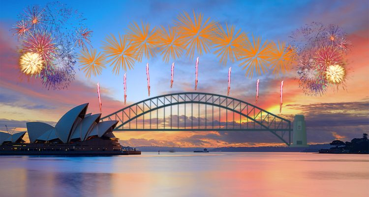 Bestweter vuurwerkshow Sydney