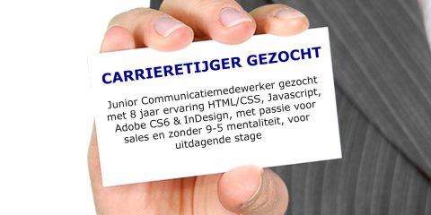 carrieretijger gezocht junior communicatiemedewerker stage
