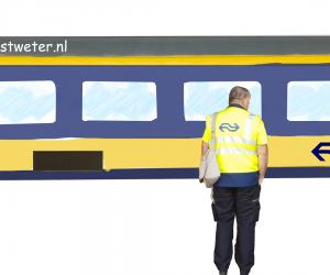 NS trein hoofdconducteur Bestweter