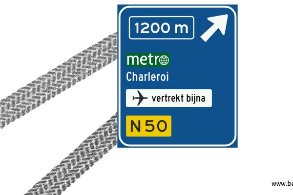 metrocolumn verkeersbord bestweter