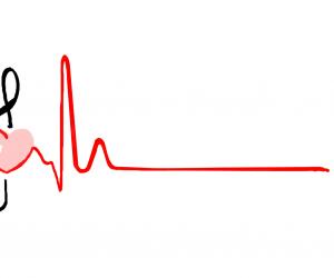 Muziek liefde G sleutel en hartslag - Bestweter