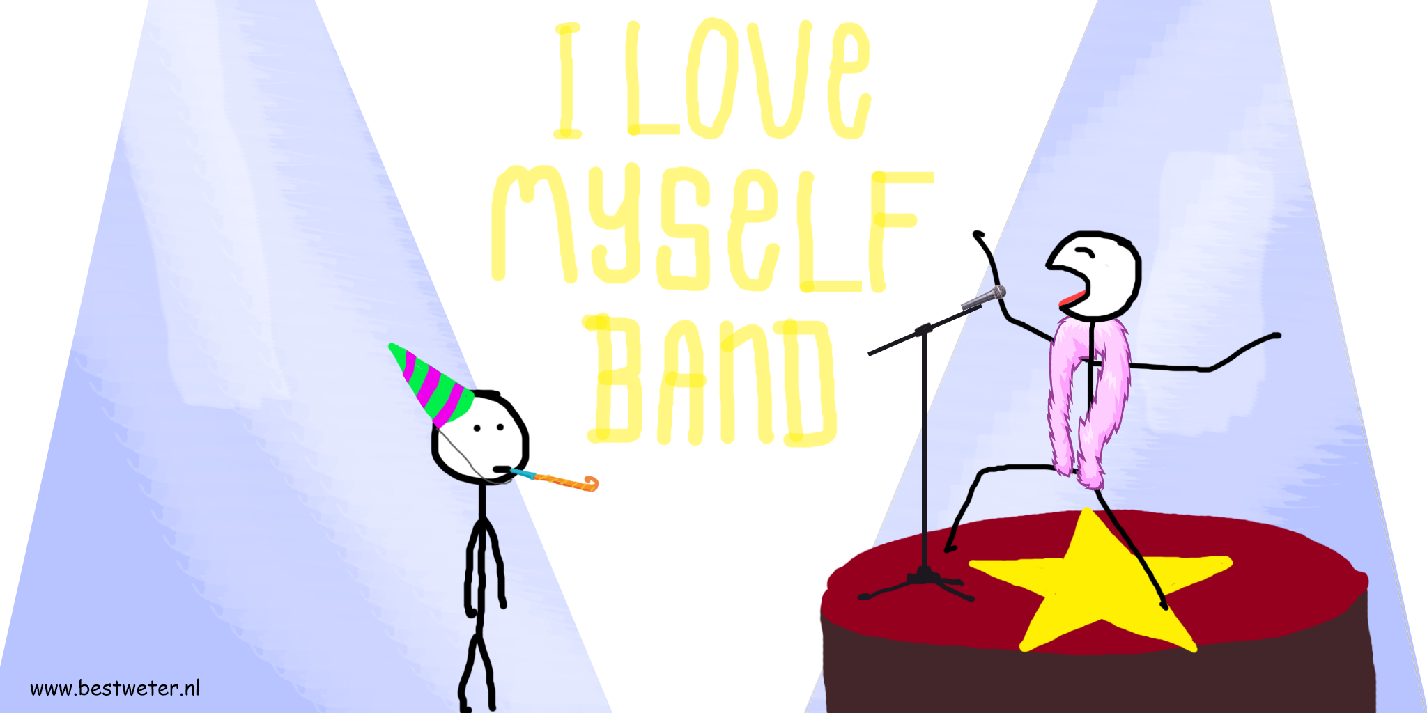 I love myself band drawing - Bestweter